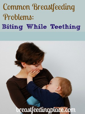 how to stop breastfeeding baby biting