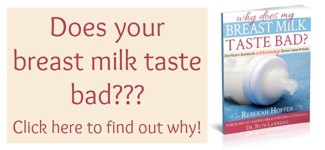 Does your breast milk taste bad