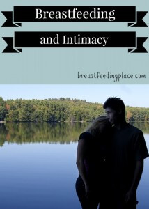 breastfeeding and intimacy