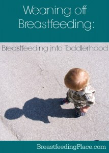 Do you need to worry about weaning off breastfeeding when your child turns a year old? This post answers that question.