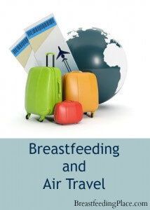 Planning on a trip this summer? This post has helpful tips for breastfeeding and air travel!