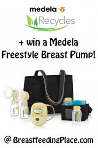 Medela Recycles + Medela Freestyle Giveaway