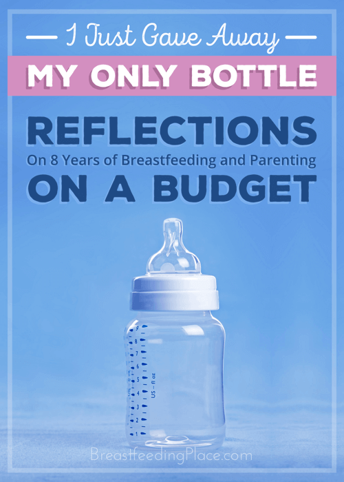 8 years of breastfeeding and parenting on a budget