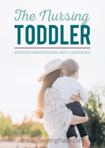 the nursing toddler