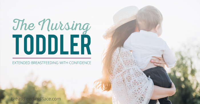 the nursing toddler FB