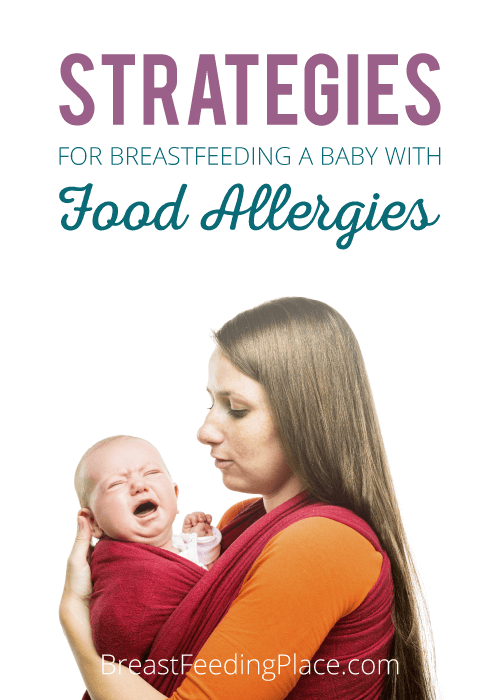 breastfeeding a baby with food allergies FB